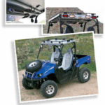 UTV Concepts Rear Light bar and Stereo Rack System